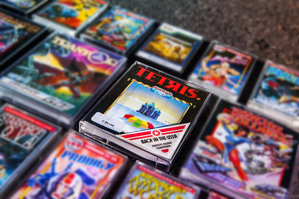 Retro gaming: TETЯIS