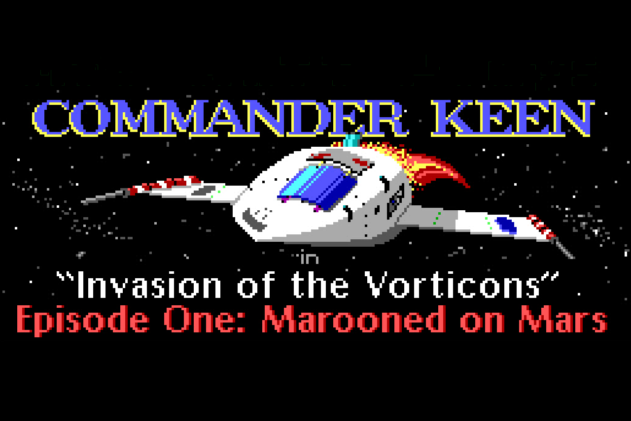 Retro games: Commander Keen